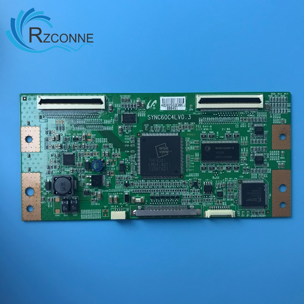 Logic Board Card Supply For Samsung SYNC60C4LV0.3 LTA400HA07 LTA400HA08 T-con Board LC40DT68C TLM40V66PK TLM40V68P L40E9FBE