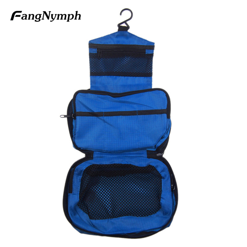 FangNymph New Portable Unisex Trip Hang Washing Bags Men Women Travel Cosmetic Toiletry Bag Wash Organizer Make Up Bags Bolsa msq make up bag pink and portable cosmetic bags for professional makeup artist toiletry case new arrival