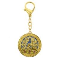 Feng Shui Akshobya Buddha Pendant W Red String Bracelet W3691