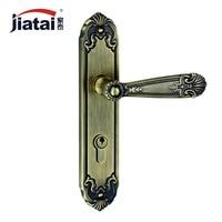 Тайский высокого класса дома Джейн Европейский Американский антикварных оборудования замки ZL249332 зеленый бронзовые дверные замки