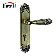 Thai high-end home Jane European American antique hardware locks ZL249332 green bronze door locks