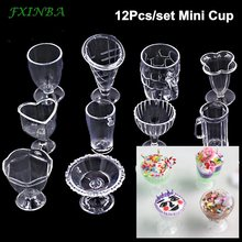 FXINBA 12Pcs/Set Mini Cups For Slime DIY Modeling Clay Cake Decoration Sprinkles Toys Mud Play Dough Box Lizun Slime Supplies(China)