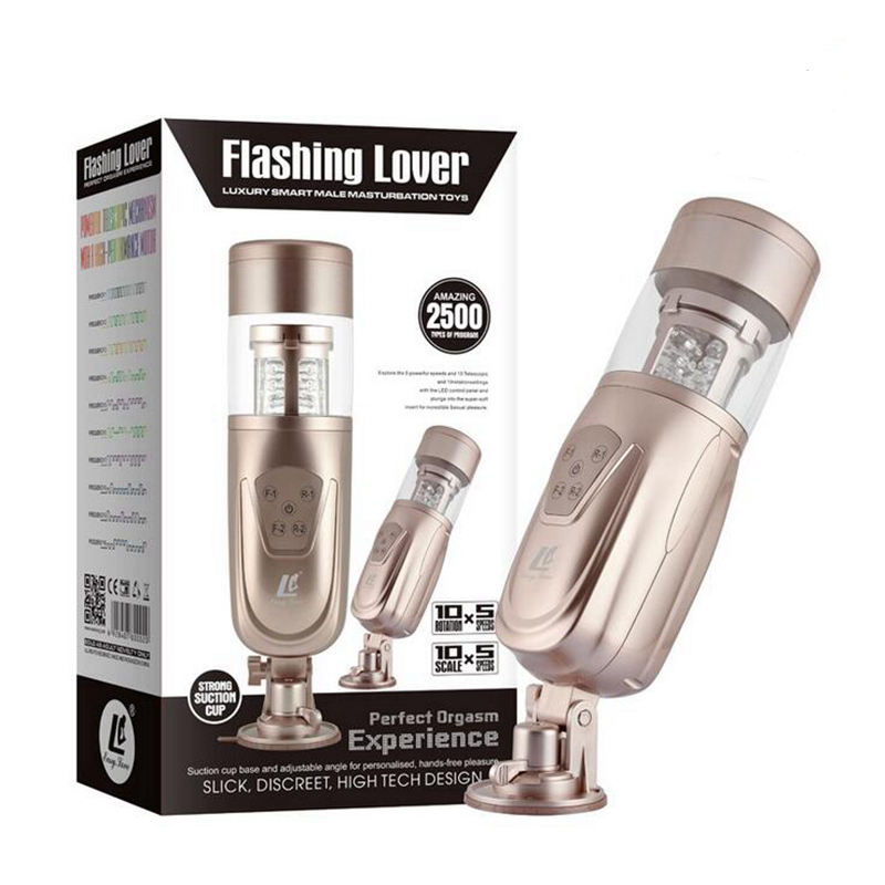 Easy Love Telescopic Lover 2 Male Masturbator Electric Automatic Rotating Retractable <font><b>Hands</b></font> <font><b>free</b></font> <font><b>Sex</b></font> Machine <font><b>Toys</b></font> <font><b>for</b></font> <font><b>Adults</b></font> <font><b>Men</b></font> image