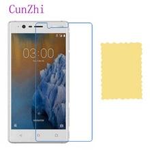 3 PCS בחדות גבוהה הגנת סרט עבור Nokia 3 טלפון נייד LCD מסך מגן