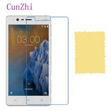 3 pièces Film de Protection haute définition pour Nokia 3 téléphone portable LCD protecteur décran