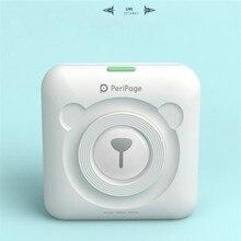 Impresora térmica pequeña inalámbrica por Bluetooth, impresora de fotografías móvil, Mini impresora portátil para Android iOS y teléfono