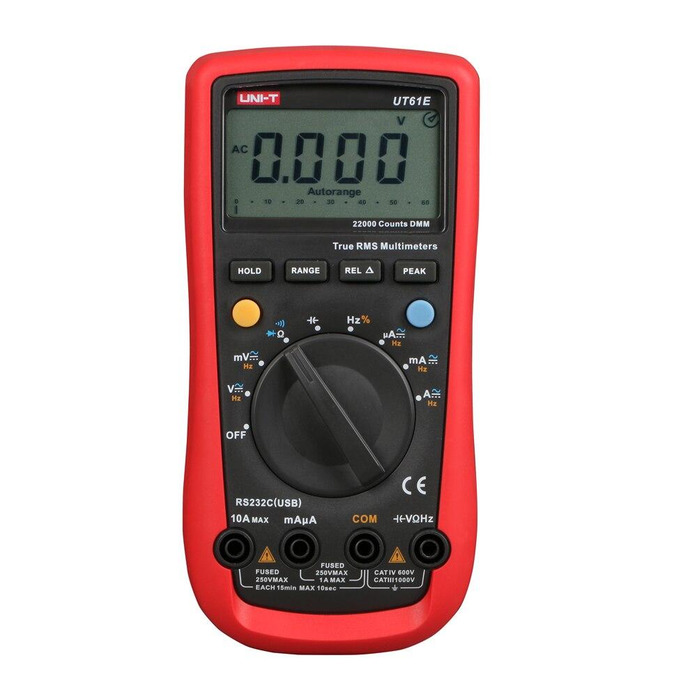 UNI T UT 61A UT61B UT61C UT61D UT61E Auto Manual Ranging Modern Digital Multimeter AC DC
