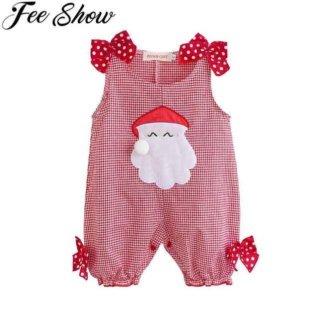 78f4f5413 Cute Infantil Newborn Baby Girls Summer Christmas Party Costumes ...