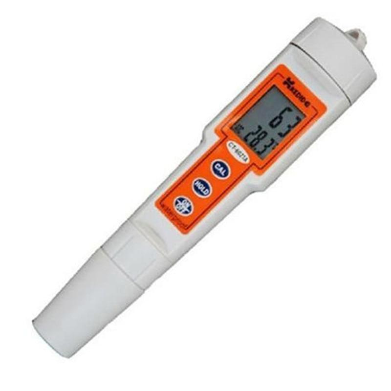 Digital PH meter protable PH tester pen-type durometer acidity meter PH detector CT-6021A Aquarium Range 0~14 PH monitor  цены