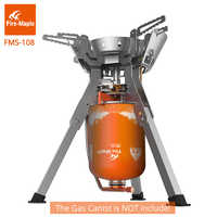 Fire Maple Outdoor Camping Gas Stove Powerful Portable Gas Burners Outdoor Stainless Steel Cooking Stoves FMS-108