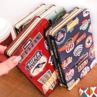 معدن الغلاف المفكرة ، الإبداعي خمر دفتر ، دفتر اليوميات ، دفتر المدرسة ، 128 ورقة ، 14.4 سنتيمتر x 9.4 سنتيمتر