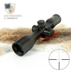 3-9x44 прицел охотничий прицел тактический прицел стеклянная сетка прицел для снайперского ружье для страйкбола