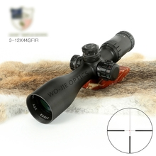 3-9x44 Riflescope Hunting Scope Tactical Sight Glass Reticle Rifle Sight For Sniper Airsoft Gun Hunting цена