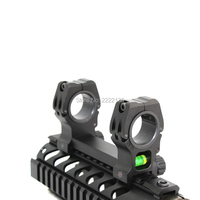 Riflescope Overall Mount 25.4mm 1/30mm High Profile Dual/Double Rings QD Integrated Scope Mount 20mm Rail Hunting Accessories