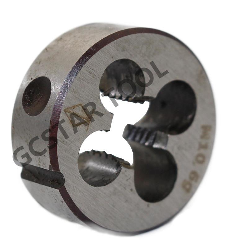 HSS 9mm x 0.5 Metric Die Right Hand Thread M9 x 0.5mm Pitch