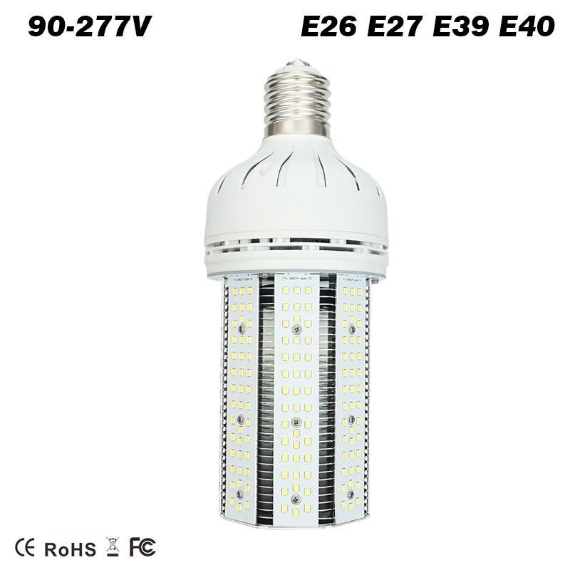 30 W 60 W 80 W 100 W 150 W 200 W LED ampoule de maïs E39 E40 base de mogul remplacement halogénure de métal haute pression sodium mercure lumières