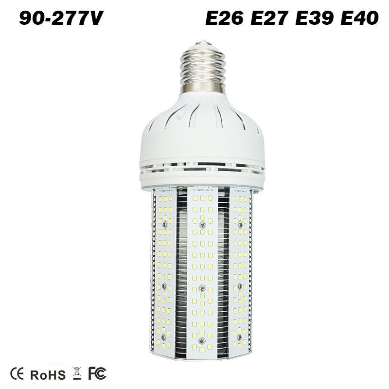 30W 60W 80W 100W 150W 200W LED Corn Bulb lamp E39 E40 mogul base replacement Metal Halide high pressure sodium mercury lights