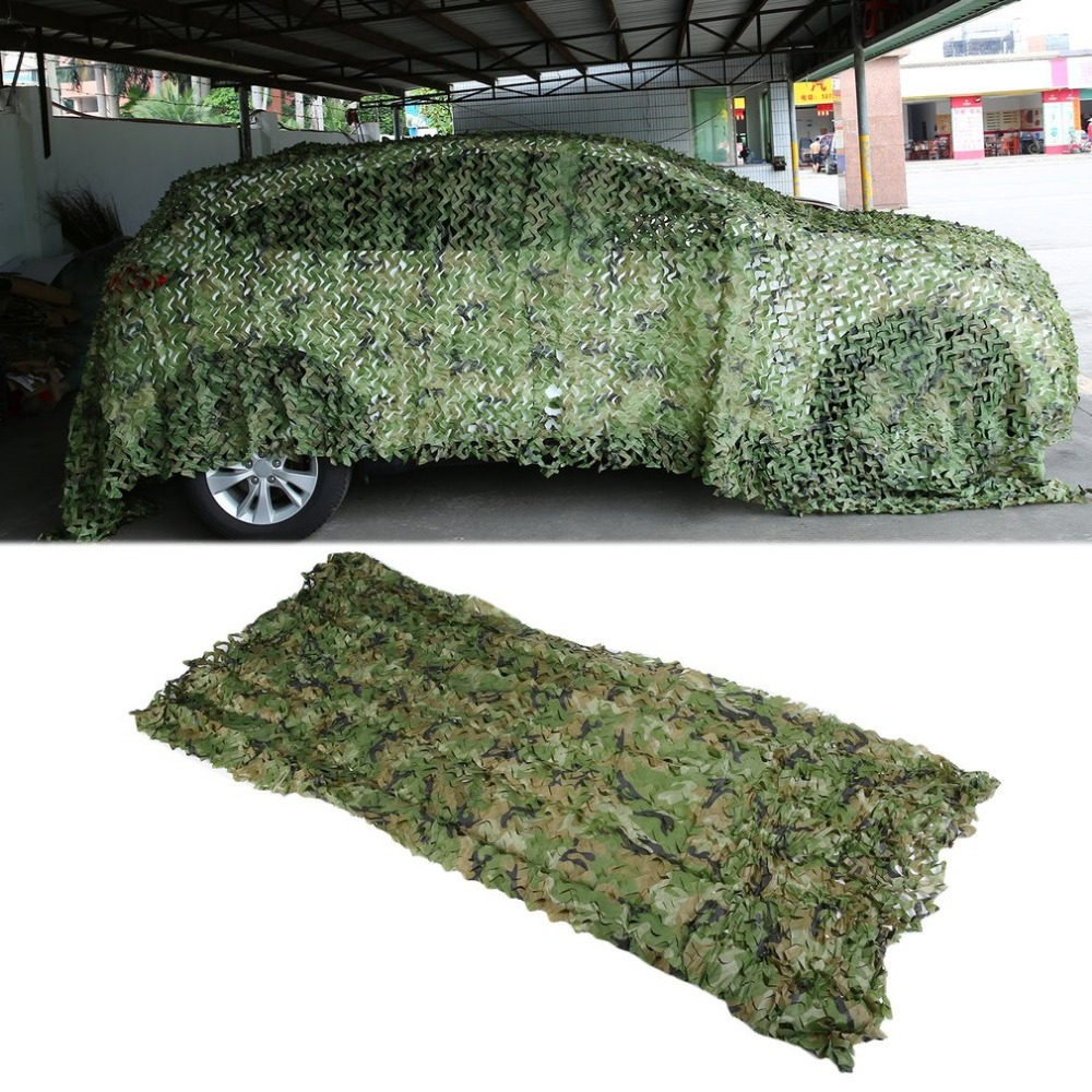 1 5 9M Camouflage Net Hunting Ghillie Suits 150D Polyester Mesh Screen Camouflage Net Hunting Blinds