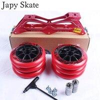 Japy коньки 100% оригинальные Powerslide скорость скейт рамки 3*125 мм 260 с 125 Powerslide колёса для 165 расстояние