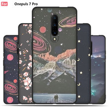 Cartoon Case For OnePlus 7 Pro,TPU Mobile Phone Shell, TPU Material Painted Beautiful Cartoon Color Painting Case.50 Colors!