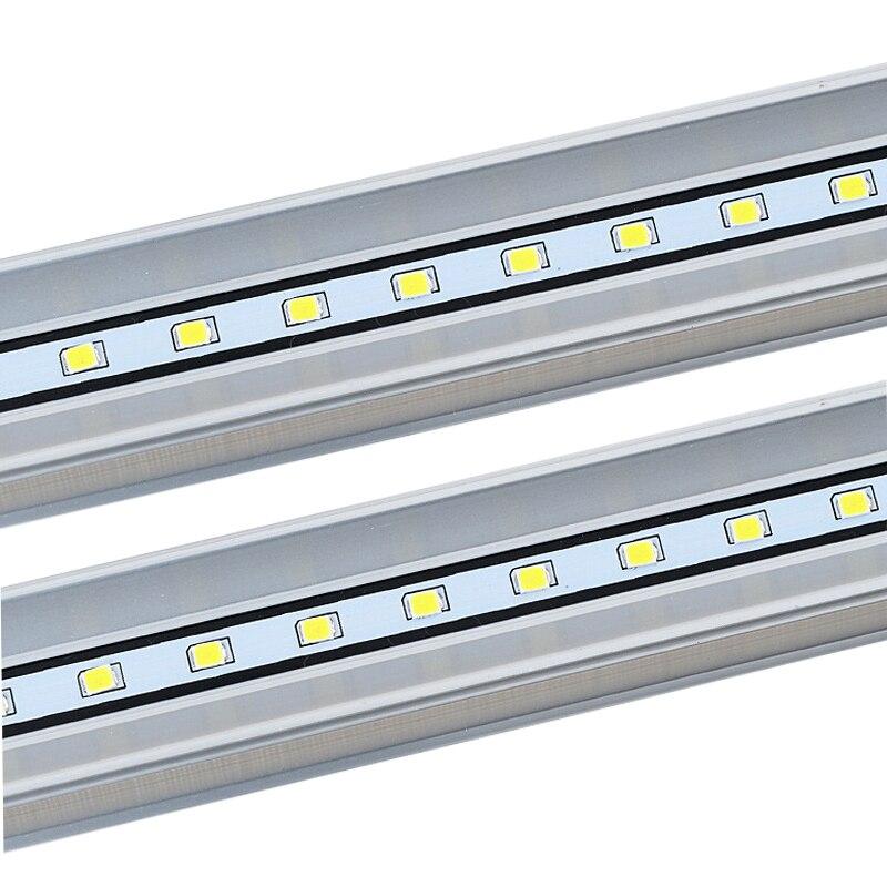 Купить с кэшбэком 10PCS Led Tube T5 Light 300mm 600mm 1200mm Lampe led bulbs tubes SMD2835 LED Lamp Tube AC86~265V Warm Cold White lights for home