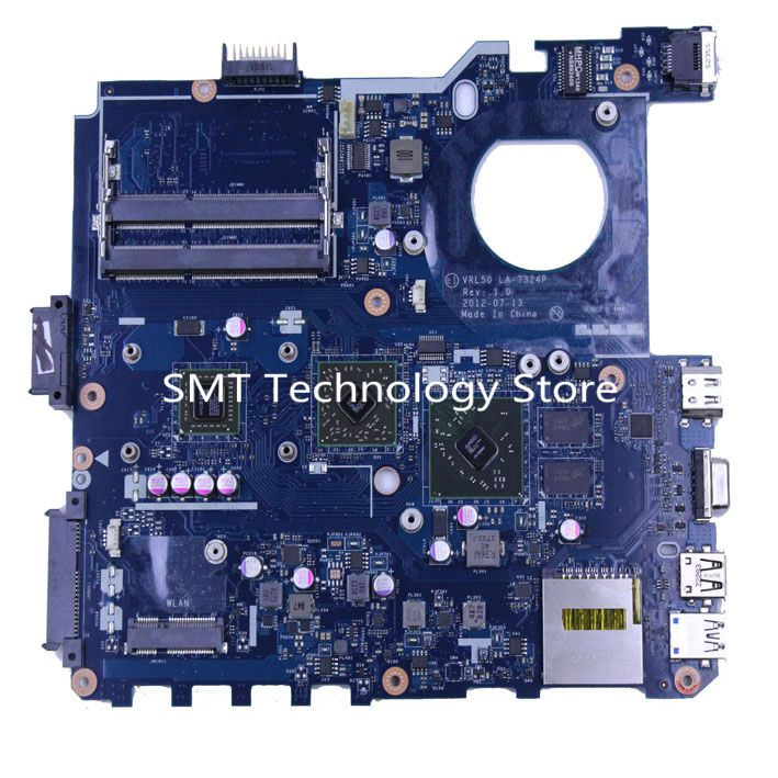 LAPTOP X43B VRL50 LA-7324P MOTHERBOARD mainboard for ASUS original fully working well