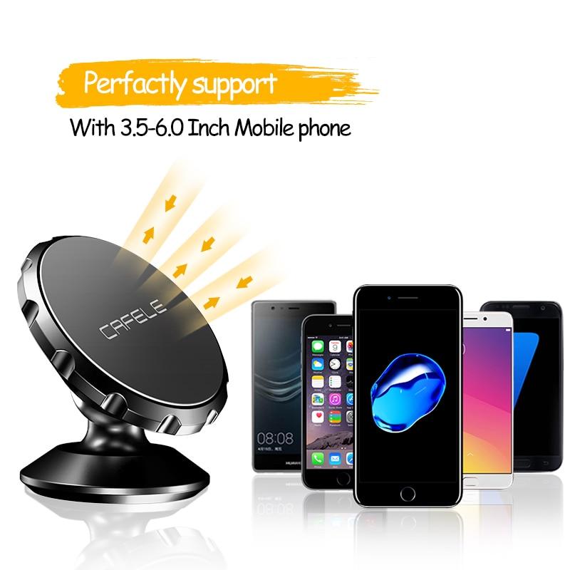 CAFELE Universal Magnetic Dudukan Telepon Mobil 360 Rotasi GPS - Aksesori dan suku cadang ponsel - Foto 4