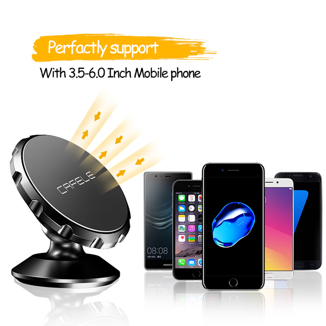 Universal Magnetic Car Phone Holder 360 Rotation