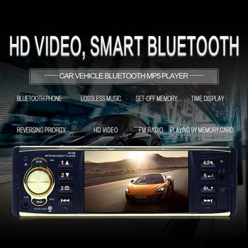 4.1 inch Car Radio MP5 Player 1Din HD 800*480 Bluetooth FM/AUX/USB/TF Steering Wheel Control Support Rear View Camera r20 image