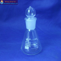 1PC 100ML Glass Conical Flask Glass Erlenmeyer Flask Glass Triangle Flask Borosilicate Glass For Laboratory