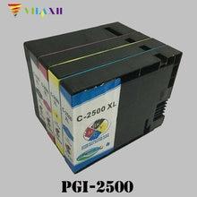 PGI-2500 Refillable Ink Cartridges For Canon PGI2500 Maxify IB4050 MB4050 MB5050 MB5350 Printer For Europe lcl pgi 2500 pgi 2500xl pgi 2500xlbk pgi2500 2 pack black ink cartridge compatible for canon maxify ib4050 mb5050 mb5350