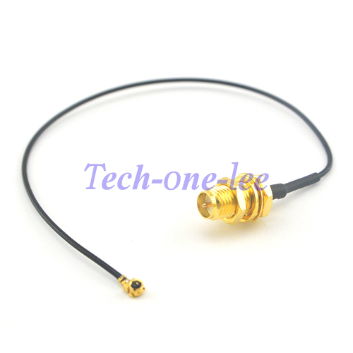 2 Piece/lot Mini PCI U.FL To RP SMA Connector Antenna WiFi Pigtail Cable IPX To RP-SMA Jack Male Pin Adapter Extension Cord
