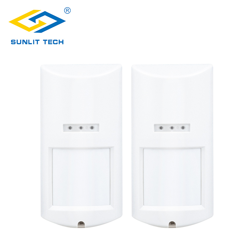 2pcs/Lot Wireless Outdoor PIR Motion Sensor For 433MHz Alarm Pet Immune Wifi Detector Sensor for Home Security Alarm System 2pcs wireless dual pir sensor pet immune motion detector 433mhz alarm sensors for wireless gsm pstn home security alarm system