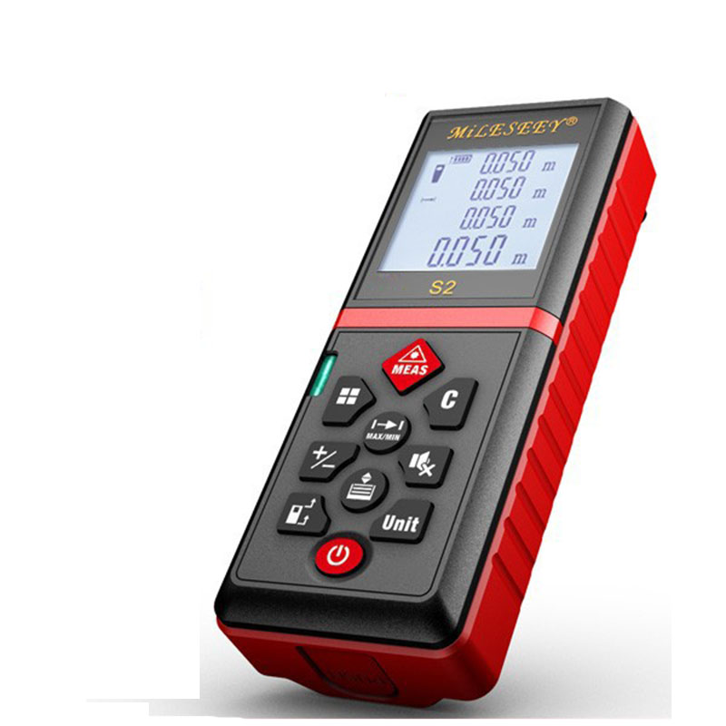 S2 60M Laser Rangefinder And Measuring Tool and Laser Distance Meter Power Button Laser Measuring Device Дальномер