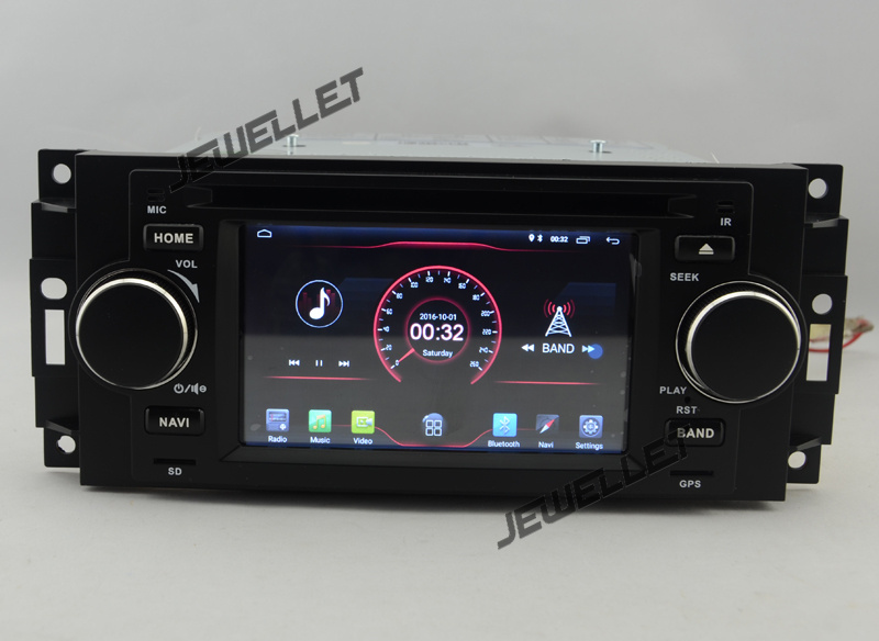 5 font b Android b font 9 0 Car DVD GPS radio Navigation for Chrysler 300C