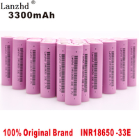 100% New Original US18650VTC7 3.7v 3300mah 18650 Lithium Rechargeable Battery For Flashlight batteries INR18650 Li ion (10 40PCS