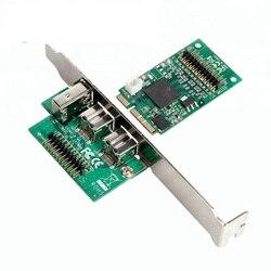 Чипсет ti Mini PCI Express, чтобы ieee1394 firewire 800 pcie Карты