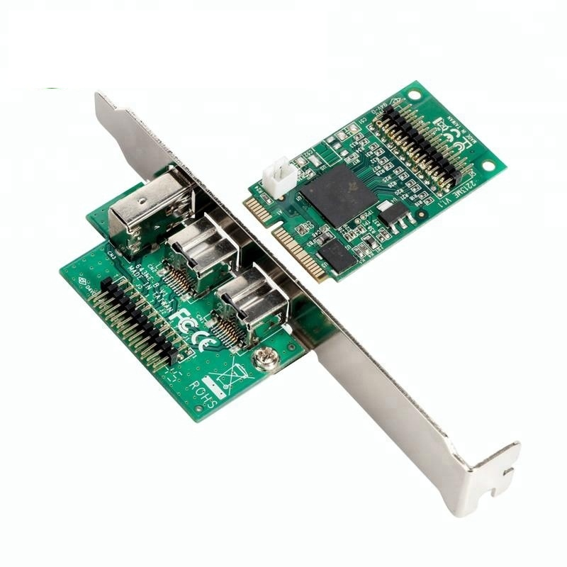 Ti Chipset Mini PCI Express To Ieee1394 Firewire 800 Pcie Card