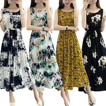Des Flowered Woman Achetez Dress Promotion 3RLj54A