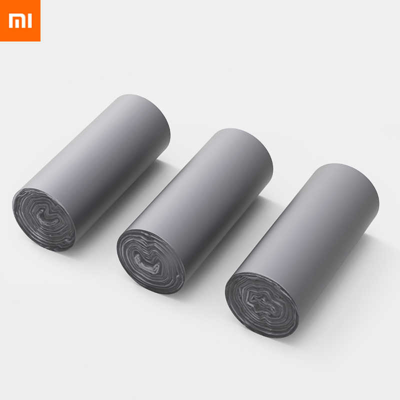 original xiaomi Metallic flat mouth garbage bag Thickened leakproof Strong bearing capacity Full of resilience