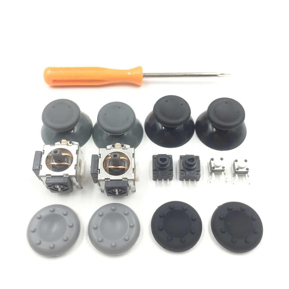 3D Analoge Joystick Sensor Module Potentiometer Duim Sticks voor Xbox 360 RB LB RT LT Switch Knop Schroevendraaier