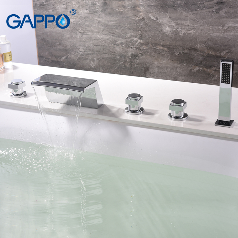 GAPPO bathtub faucet Basin faucet bathroom waterfall bathroom faucet deck mounted mixer tap rainfall bathtub faucets gappo bathtub faucet bathroom faucets deck mounted mixers waterfall faucet basin sink kitchen mixer tap faucets