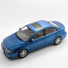 Blue Mitsubishi LANCER FORTIS Miniature Toys Simulation Collectable Alloy Model