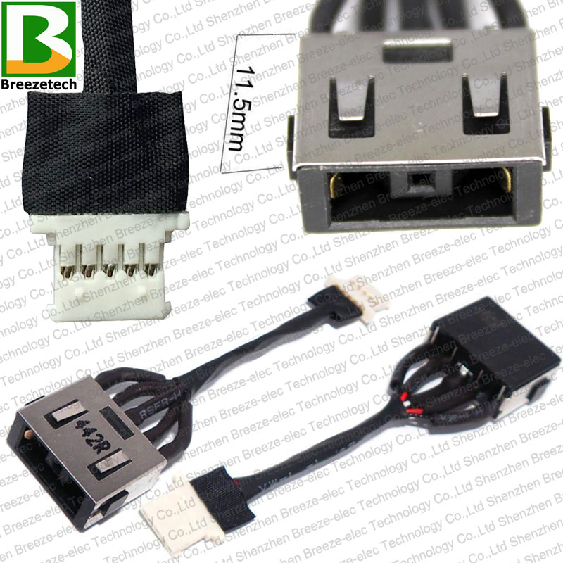 DC POWER JACK CABLE HARNESS CHARGING PORT FOR LENOVO YOGA 2 11 DC30100L600 11.6