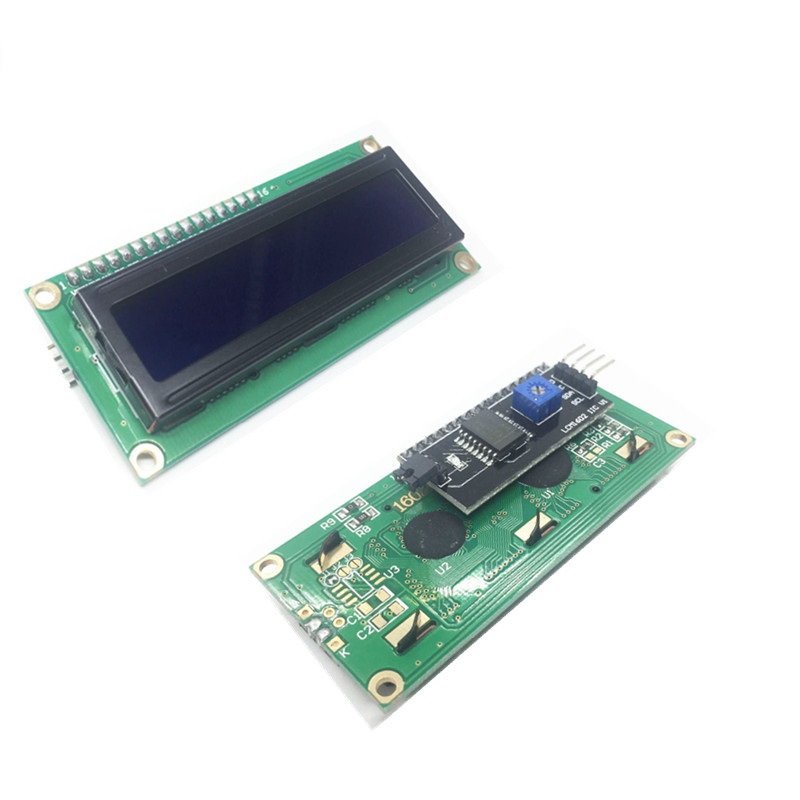 LCD1602+I2C LCD 1602 Module Blue Screen PCF8574 IIC/I2C LCD1602 Adapter Plate For Arduino