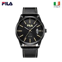Fila watches men's quartz watch stereo scale waterproof trend fashion belt men's watch 636