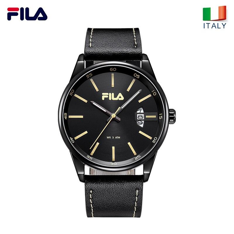 ecbc2ab6e7ace7 Fila watches mens quartz watch stereo scale waterproof trend fashion belt  636