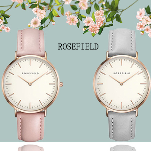 2019 New Brand ROSEFIELD Modern Fashion Women's Watches Female Quartz Watch Male Casual Wristwatch Waterproof Wristwatch Gift(China)
