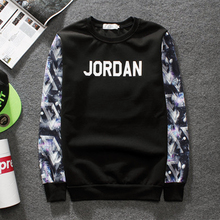 Jordan Sweatshirt Men 3D Printed Mens Streetwear Hoodies Hip Hop Fashion Men Women Sweatshirt Round Neck