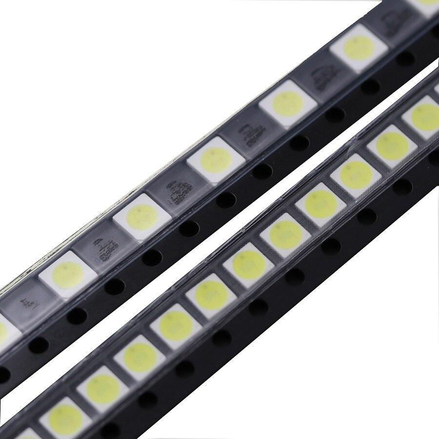 50pcs TV Backlight Diodes 3535 SMD LED 1W 3V 2W 6V Televisao Cold Cool White 100lm 3535 3537 Backlit LCD Backlight for TV Repair